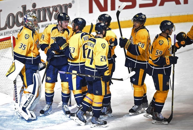 Nashville Predators vs. Winnipeg Jets - 2/12/15 NHL Pick, Odds, and Prediction