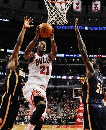 Indiana Pacers vs. Chicago Bulls - 12/29/14 NBA Pick, Odds, and Prediction