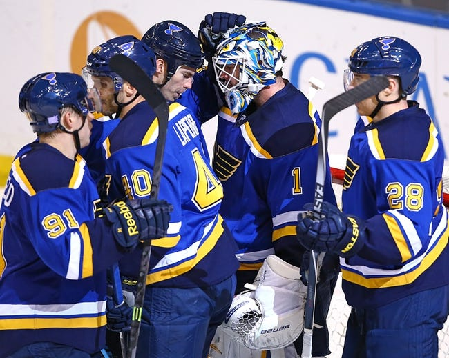 Washington Capitals vs. St. Louis Blues - 2/1/15 NHL Pick, Odds, and Prediction