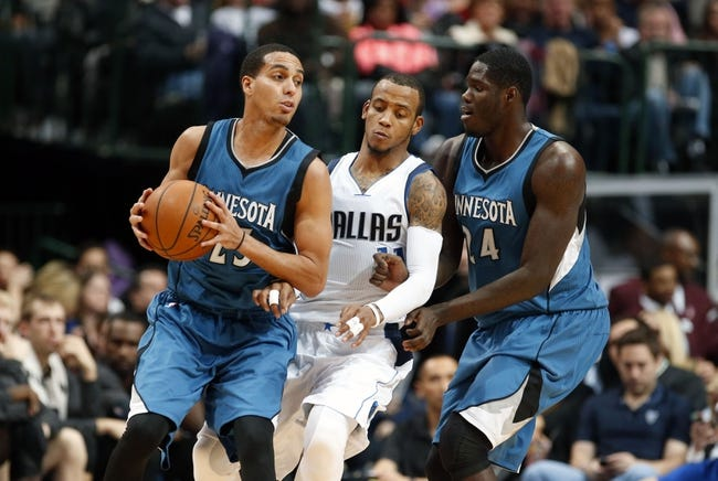 Timberwolves vs. Mavericks - 1/21/15 NBA Pick, Odds, and Prediction