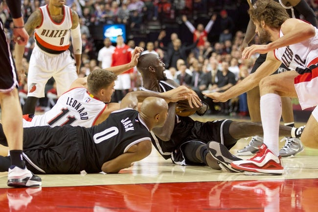 Nets vs. Trail Blazers - 1/26/15 NBA Pick, Odds, and Prediction