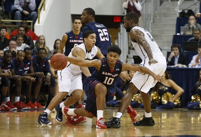 The Citadel Bulldogs vs. Samford Bulldogs - 1/8/15 College Basketball Pick, Odds, and Prediction