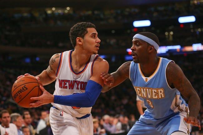 Denver Nuggets vs. New York Knicks - 3/9/15 NBA Pick, Odds, and Prediction