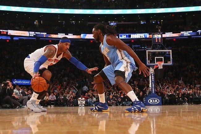 Denver Nuggets at New York Knicks  - 2/7/16 NBA Pick, Odds, and Prediction