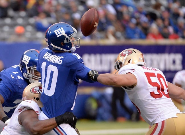 Fantasy Football 2015: 49ers at Giants Week 5 Preview