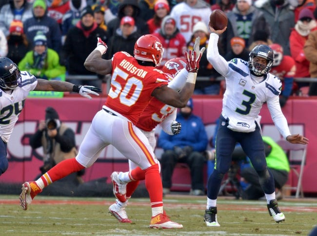 Kansas City Chiefs vs. Seattle Seahawks - 8/21/15 NFL Pick, Odds, and Prediction