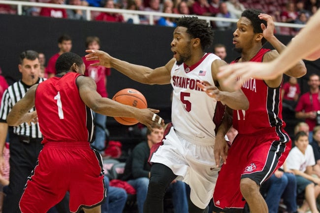 Stanford vs. Delaware - 11/25/14 College Basketball Pick, Odds, and Prediction