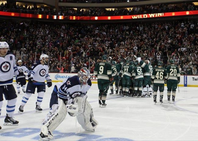 Wild vs. Jets - 12/27/14 NHL Pick, Odds, and Prediction