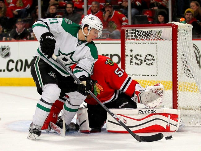 Chicago Blackhawks vs. Dallas Stars - 1/4/15 NHL Pick, Odds, and Prediction