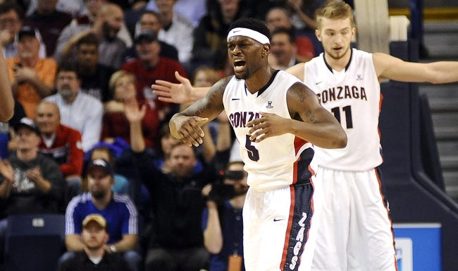 Gonzaga Bulldogs vs. Saint Joseph's Hawks - 11/19/14 College Basketball Pick, Odds, and Prediction