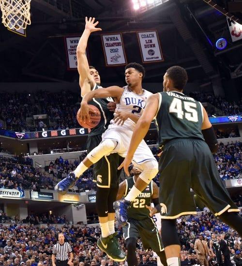 Duke vs. Michigan State - NCAA Tournament - 4/4/15 College Basketball Pick, Odds, and Prediction