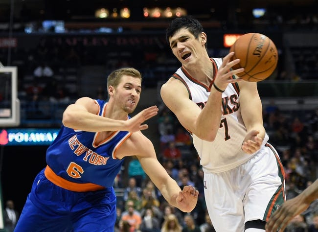 Knicks vs. Bucks - 1/4/15 NBA Pick, Odds, and Prediction