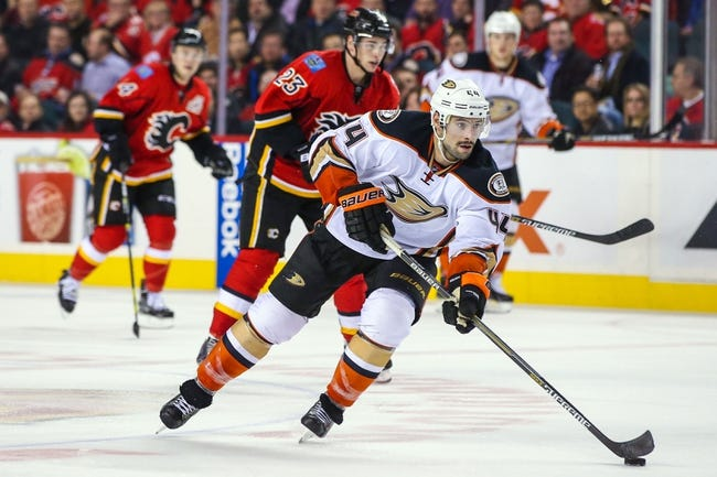 NHL | Calgary Flames (13-7-2) at Anaheim Ducks (13-4-5)