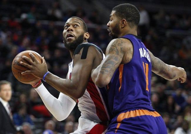 Phoenix Suns vs. Detroit Pistons - 12/12/14 NBA Pick, Odds, and Prediction
