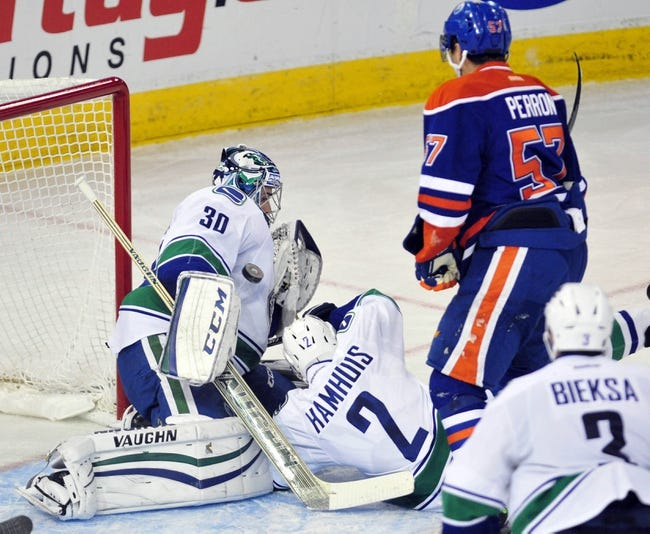Vancouver Canucks vs. Edmonton Oilers - 4/11/15 NHL Pick, Odds, and Prediction