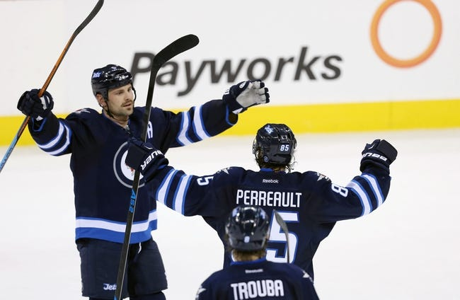 Jets vs. Blues - 11/23/14 NHL Pick, Odds, and Prediction