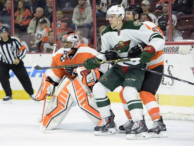 NHL | Philadelphia Flyers (13-14-6) at Minnesota Wild (16-12-3)
