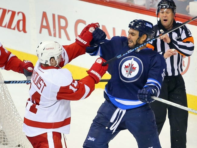Red Wings vs. Jets - 2/14/15 NHL Pick, Odds, and Prediction