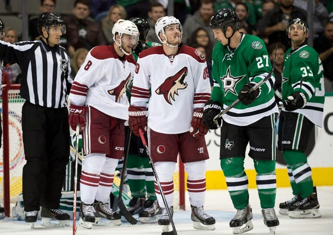 Coyotes vs. Stars - 2/18/16 NHL Pick, Odds, and Prediction