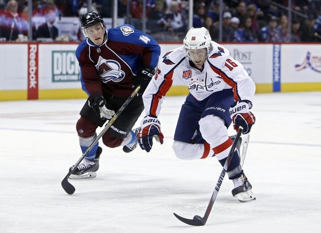 Capitals vs. Avalanche - 1/12/15 NHL Pick, Odds, and Prediction