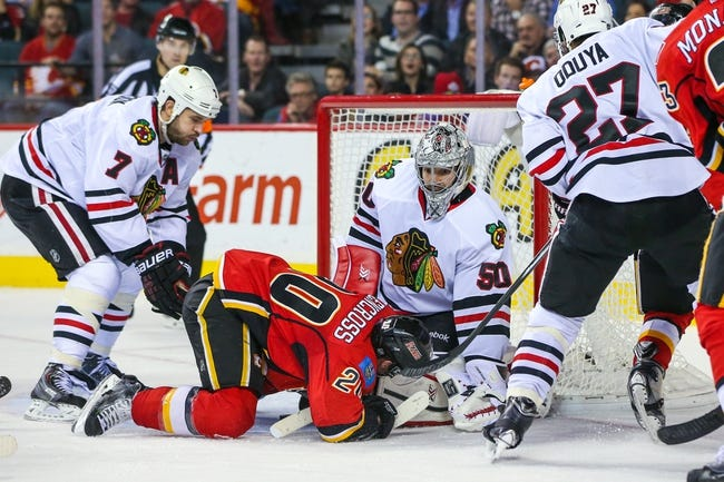 Chicago Blackhawks vs. Calgary Flames - 12/14/14 NHL Pick, Odds, and Prediction