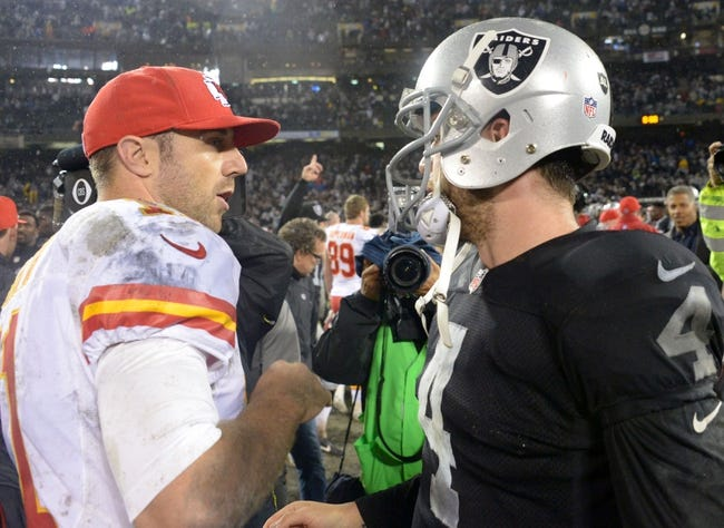 Chiefs vs. Raiders - 12/14/14 NFL Pick, Odds, and Prediction