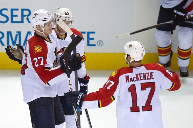 San Jose Sharks vs. Florida Panthers - 11/5/15 NHL Pick, Odds, and Prediction
