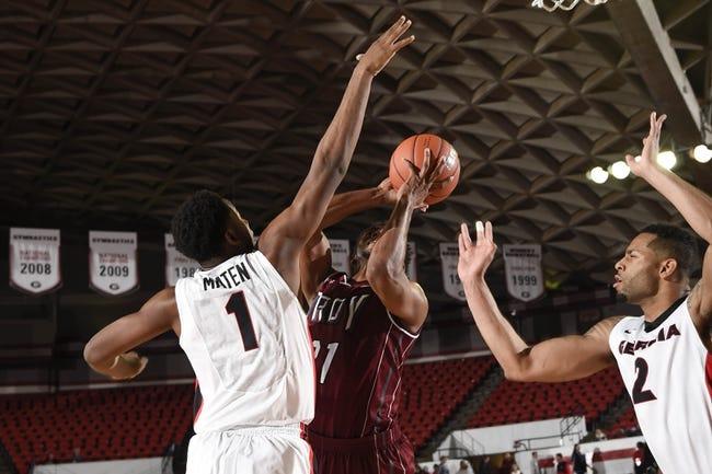 Louisiana-Lafayette Ragin Cajuns vs. Troy Trojans - 1/3/15 College Basketball Pick, Odds, and Prediction