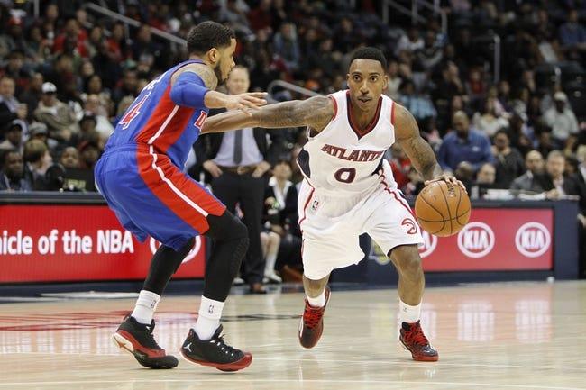 Pistons vs. Hawks - 1/9/15 NBA Pick, Odds, and Prediction