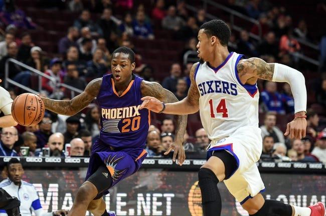 Phoenix Suns vs. Philadelphia 76ers - 12/26/15 NBA Pick, Odds, and Prediction