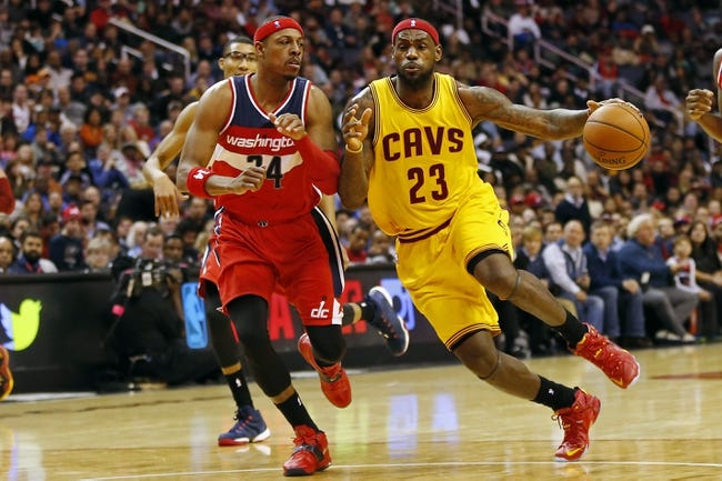 Cleveland Cavaliers vs. Washington Wizards - 11/26/14 NBA Pick, Odds, and Prediction