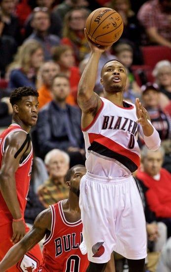 Chicago Bulls vs. Portland Trail Blazers - 12/12/14 NBA Pick, Odds, and Prediction