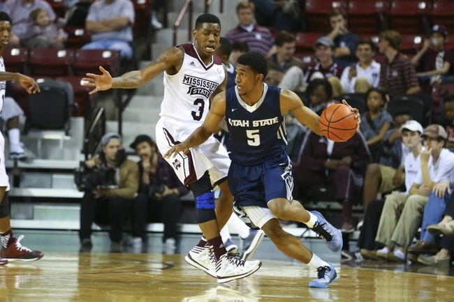 Utah State Aggies vs. CS Bakersfield Roadrunners - 12/18/14 College Basketball Pick, Odds, and Prediction