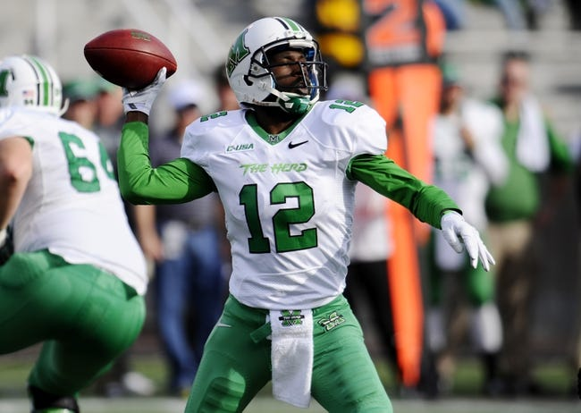 Marshall vs. Western Kentucky - 11/28/14 College Football Pick, Odds, and Prediction
