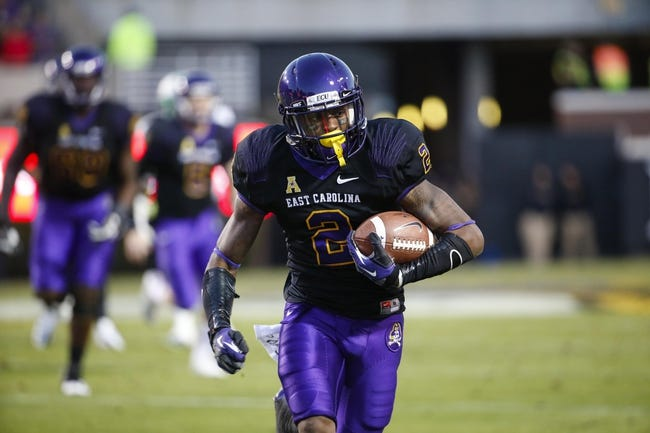 East Carolina Pirates vs. Central Florida Knights - 12/4/14 College Football Pick, Odds, and Prediction