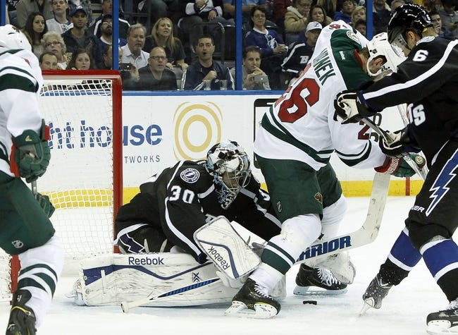 Minnesota Wild vs. Tampa Bay Lightning - 11/7/15 NHL Pick, Odds, and Prediction