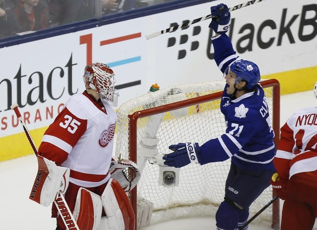 Detroit Red Wings vs. Toronto Maple Leafs - 12/10/14 NHL Pick, Odds, and Prediction