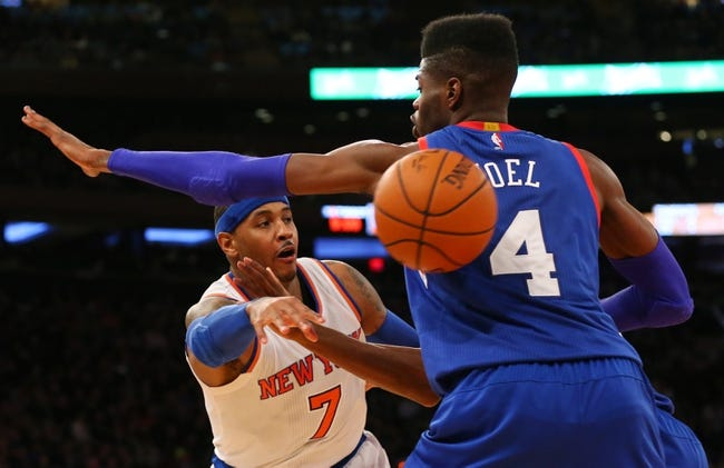 76ers vs. Knicks - 1/21/15 NBA Pick, Odds, and Prediction