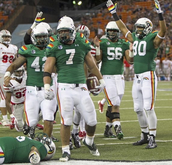 Fresno State Bulldogs vs. Hawaii Warriors - 11/29/14 College Football Pick, Odds, and Prediction