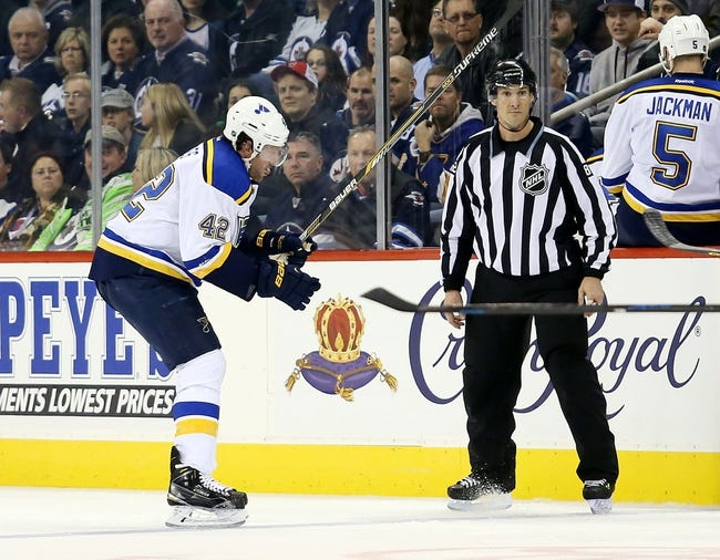 Winnipeg Jets vs. St. Louis Blues - 2/26/15 NHL Pick, Odds, and Prediction