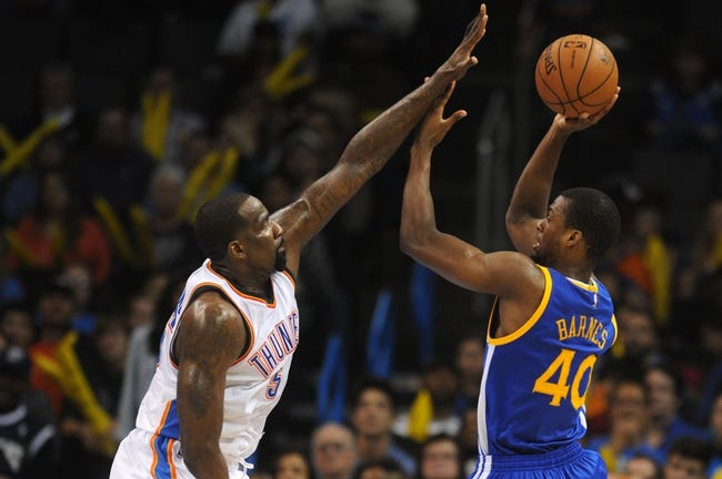 Golden State Warriors vs. Oklahoma City Thunder - 12/18/14 NBA Pick, Odds, and Prediction