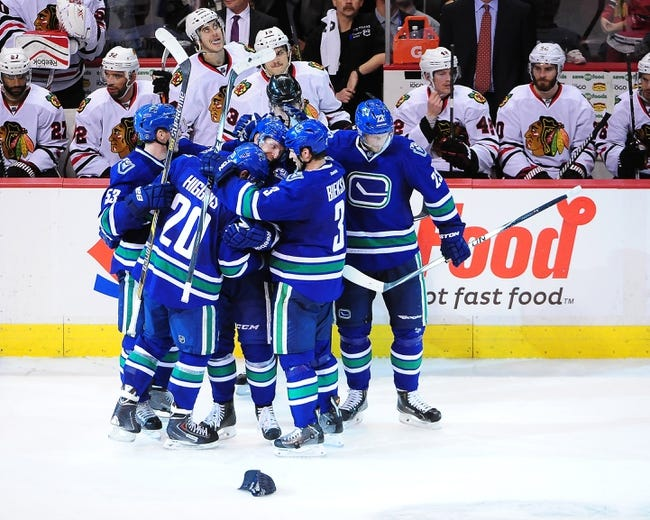 Chicago Blackhawks vs. Vancouver Canucks - 2/11/15 NHL Pick, Odds, and Prediction