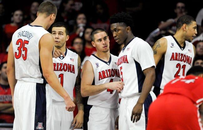 Kansas State vs. Arizona - 11/25/14 College Basketball Pick, Odds, and Prediction