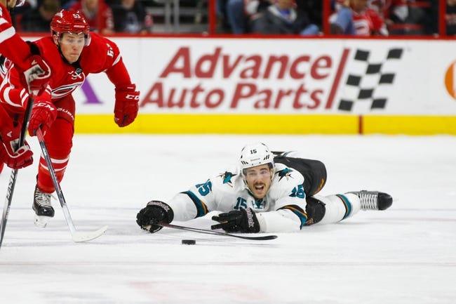 San Jose Sharks vs. Carolina Hurricanes - 2/7/15 NHL Pick, Odds, and Prediction