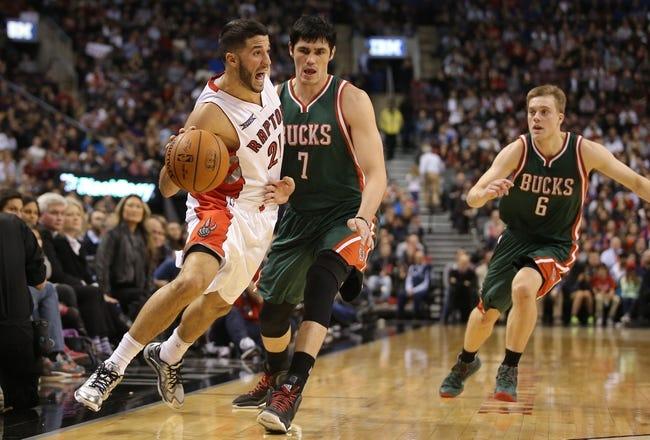 Bucks vs. Raptors - 1/19/15 NBA Pick, Odds, and Prediction