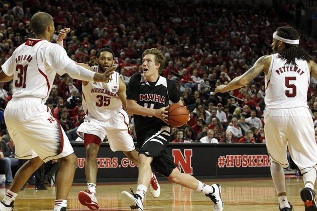 Nebraska vs. Tennessee-Martin - 11/28/14 College Basketball Pick, Odds, and Prediction