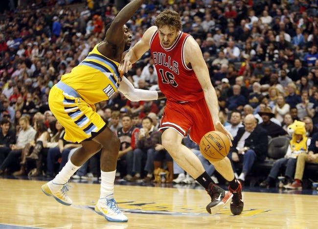 Bulls vs. Nuggets - 1/1/15 NBA Pick, Odds, and Prediction