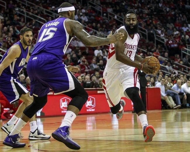 Sacramento Kings vs. Houston Rockets - 12/11/14 NBA Pick, Odds, and Prediction
