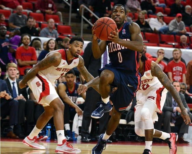 Richmond vs. IUPUI - 12/23/14 College Basketball Pick, Odds, and Prediction