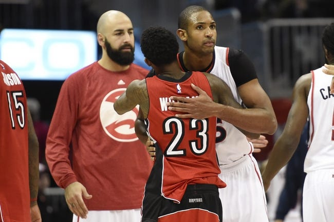 Raptors vs. Hawks - 1/16/15 NBA Pick, Odds, and Prediction